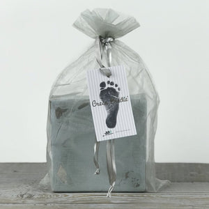 baby's footprint stamp kit
