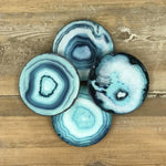 ocean glass coasters