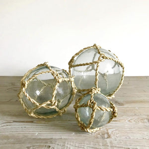 glass rope balls