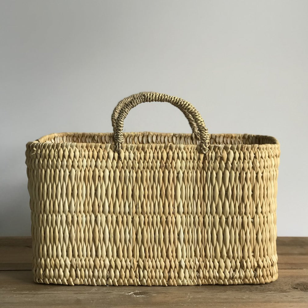 moroccan reed basket