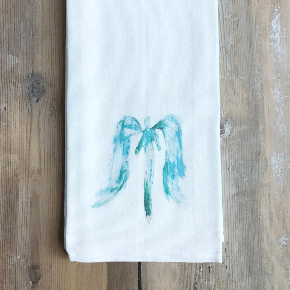 blue angel towel
