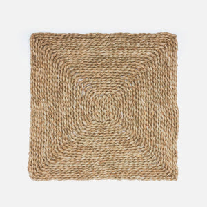 square seagrass placemats