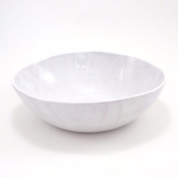 r. wood studio large white bowl