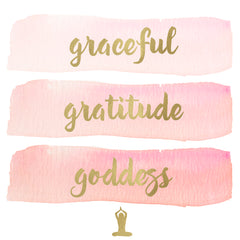 graceful gratitude goddess