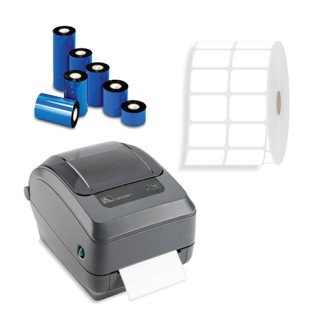 Zebra GX420t <p>Thermal Transfer Printer Package