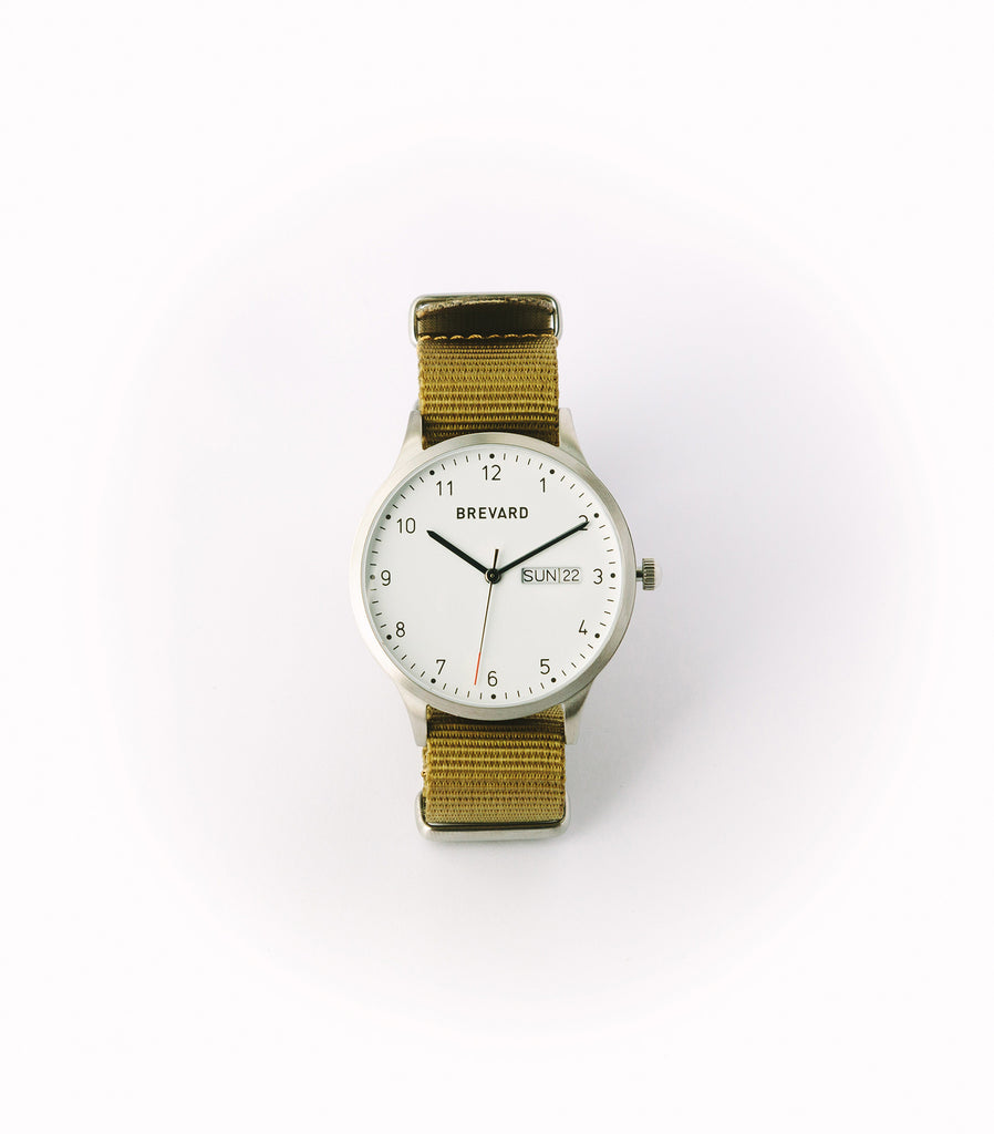 Original Brevard Watch | Nylon Strap