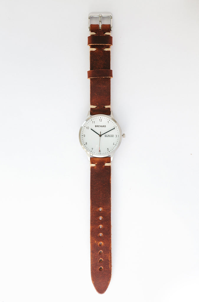 Original Brevard Watch | Leather Strap