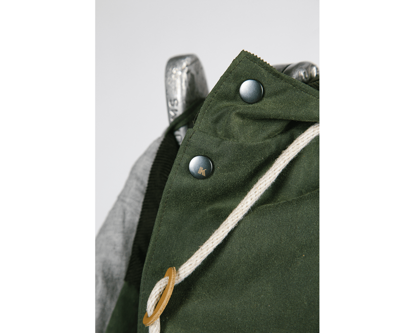 Ketums Waxed Cotton Bondy Jacket Raincoat