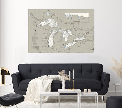 Great Lakes Region Nautical Charts