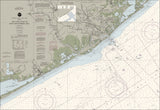 San Luis Pass To East Matagorda Bay Nautical Chart