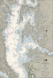 Cove Point To Sandy Point Nautical Chart