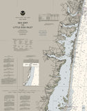 Sea Girt To Little Egg Inlet, Barnegat Bay Nautical Chart