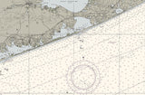 Shinnecock Light to Fire Island Light Nautical Chart