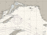 Lake Superior Nautical Chart