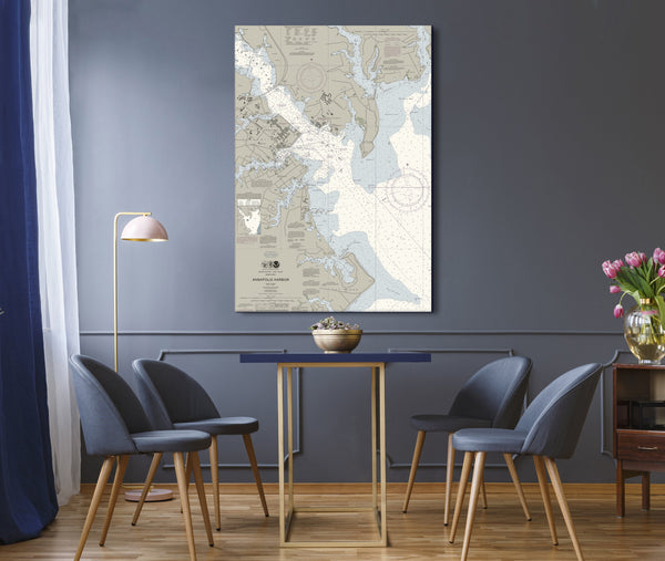 Annapolis Harbor Nautical Chart