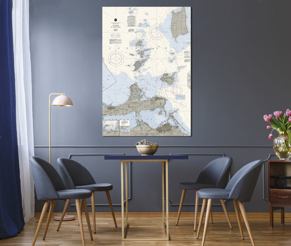 Islands in Lake Erie Nautical Chart