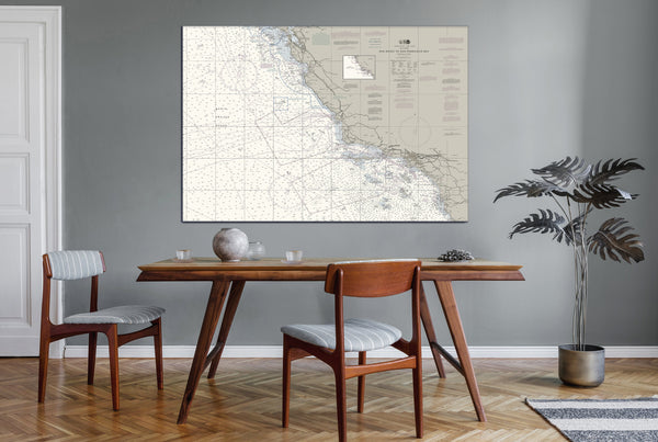 San Diego To San Francisco Bay Nautical Chart
