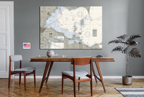 West End of Lake Erie Nautical Chart