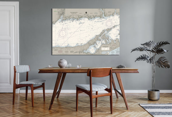 Long Island Sound - Eastern Part Nautical Chart