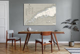 Long Island Sound - Western Part Nautical Chart