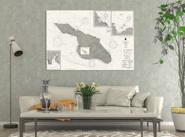 Santa Catalina, CA Nautical Chart
