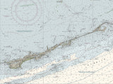 Alligator Reef To Sombrero Key Nautical Chart