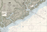 Charleston Harbor And Approaches Nautical Chart