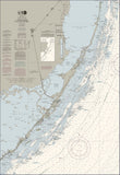 Fowey Rocks To Alligator Reef Nautical Chart