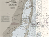 Ft Lauderdale To Miami Nautical Chart