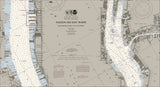 New York - Hudson And East Rivers Nautical Chart