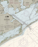 Matagorda Bay And Approaches Nautical Chart