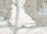 Mobile Bay Nautical Chart