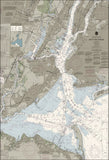 New York Harbor Nautical Chart