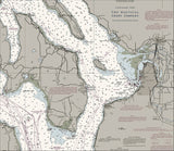 Puget Sound - Northern Part Nautical Chart