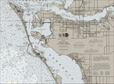 Siesta Key to Anna Maria Nautical Chart