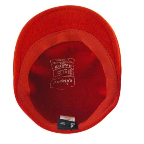 504 Wool Kangol Cap - Red