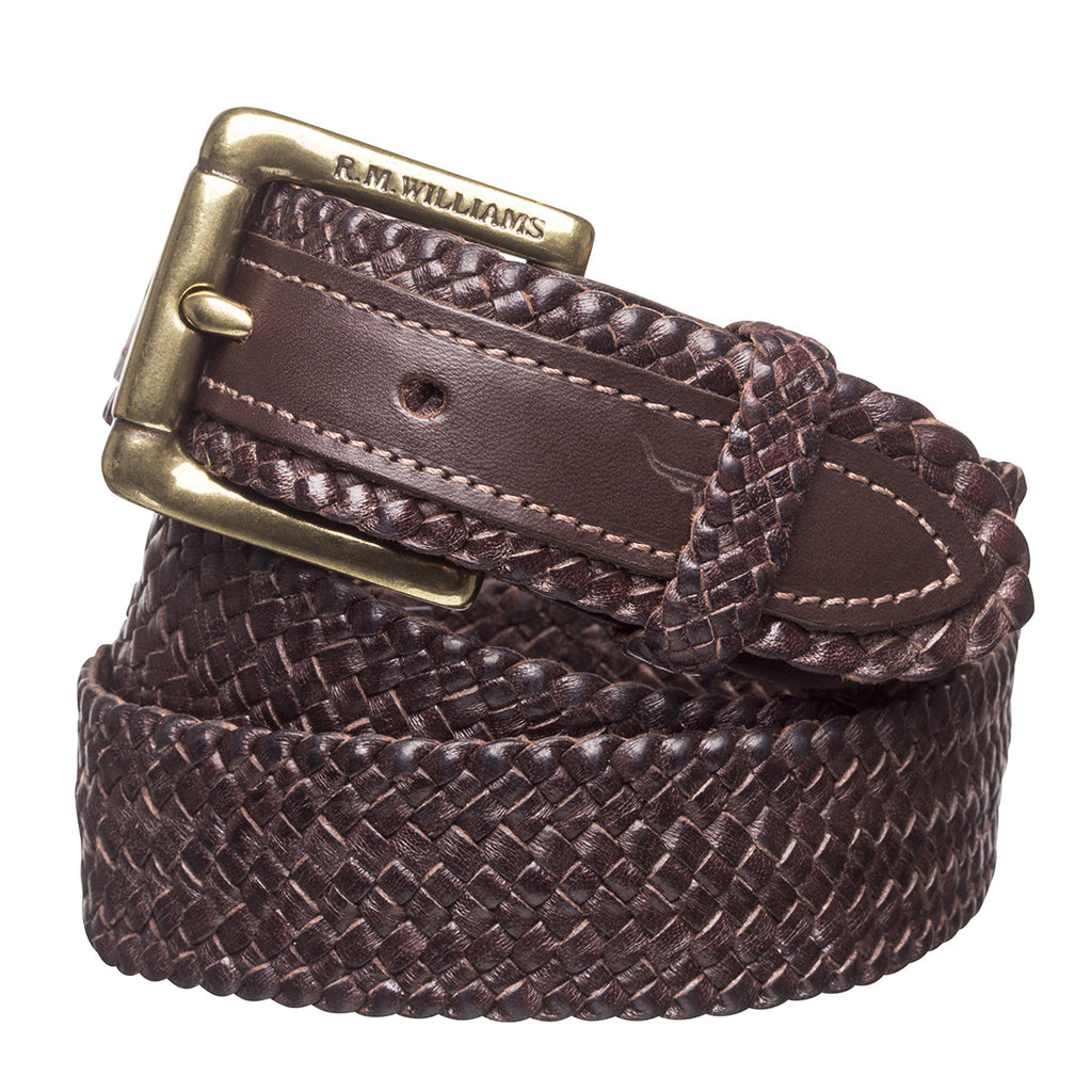 "1 1/4"" PLAITED BUCKLE BELT"
