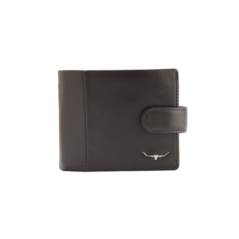 Wallet with coin pkt and tab