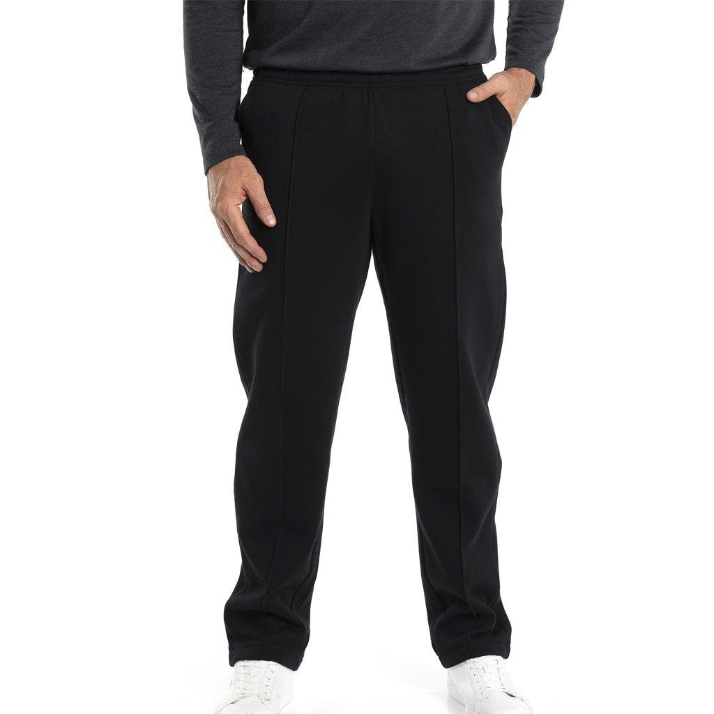 Mt Fleece Trackpant - Black
