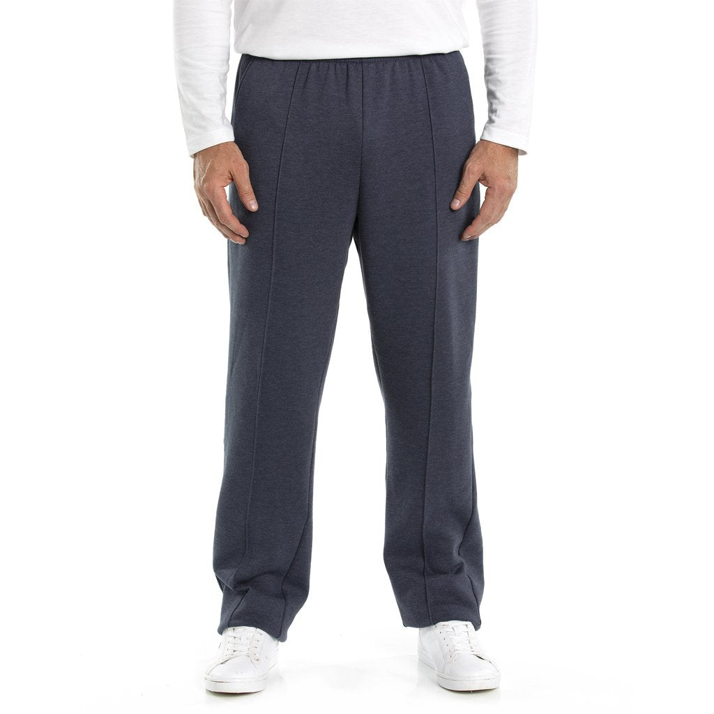 Mt Fleece Pant - Denim Marle