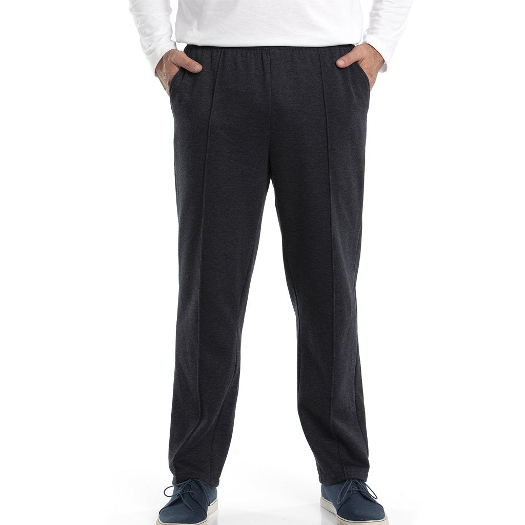 Mt Fleece Trackpant - Jet Marle