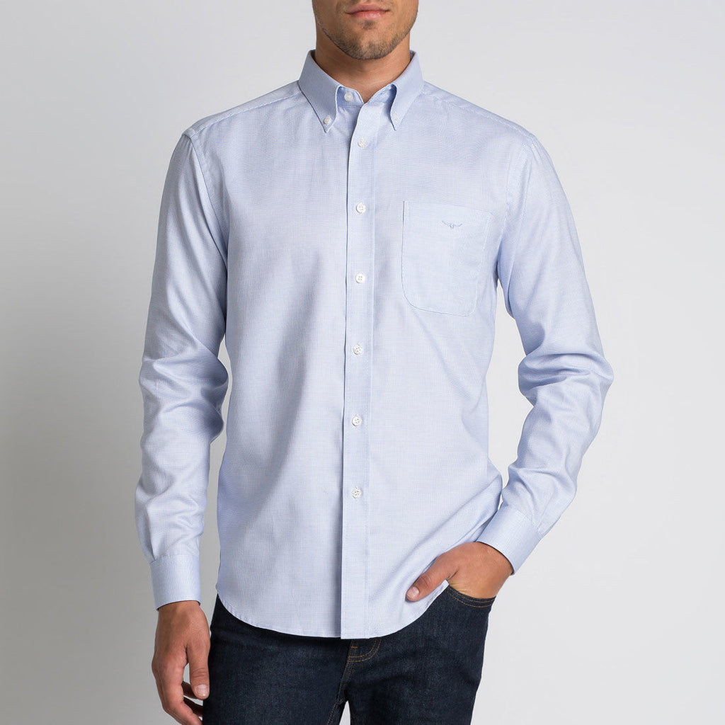 Mansfield Shirt Pale Blue