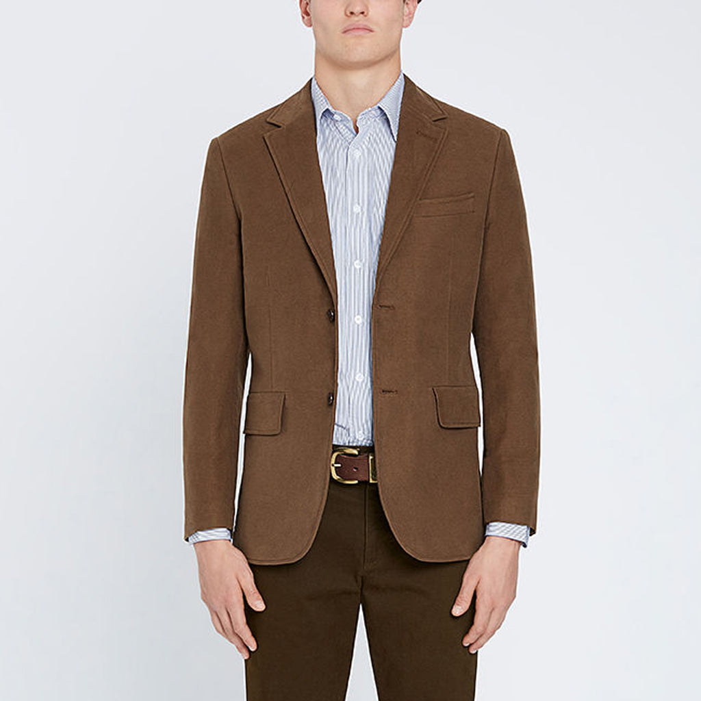 Milson Sports Coat - Tobacco
