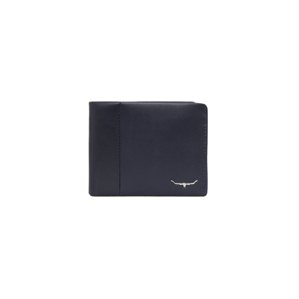 Wallet with coin pocket - Navy