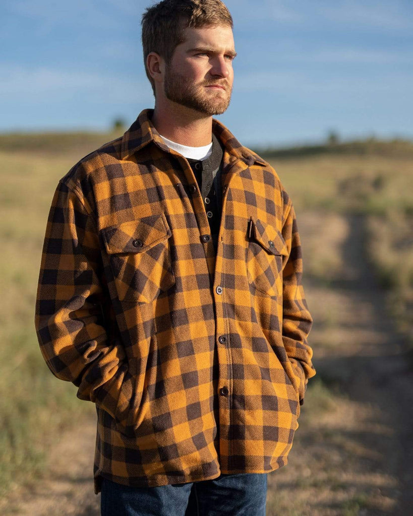 Polar Fleece Shirt - Brown