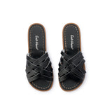 Saltwater Sandals Retro Slide - Black