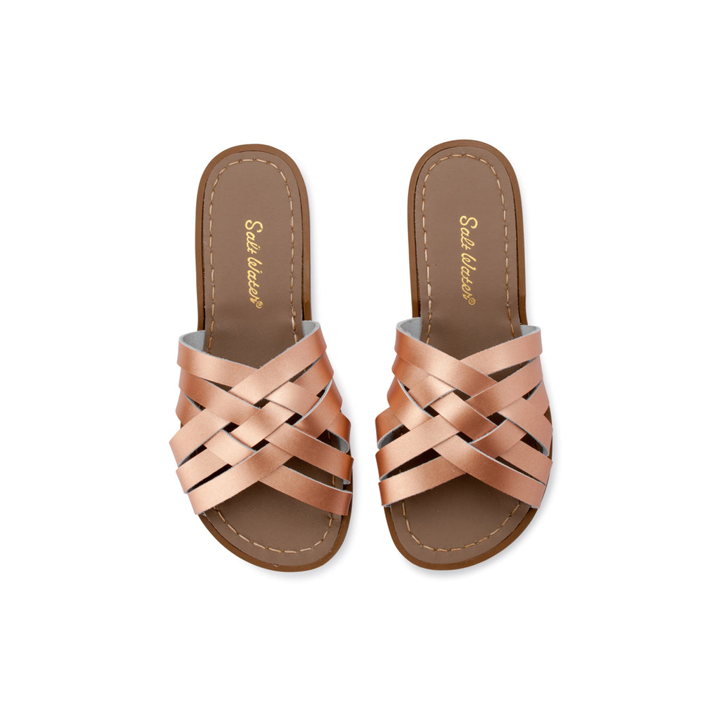 Saltwater Sandals Retro Slide - Rose Gold