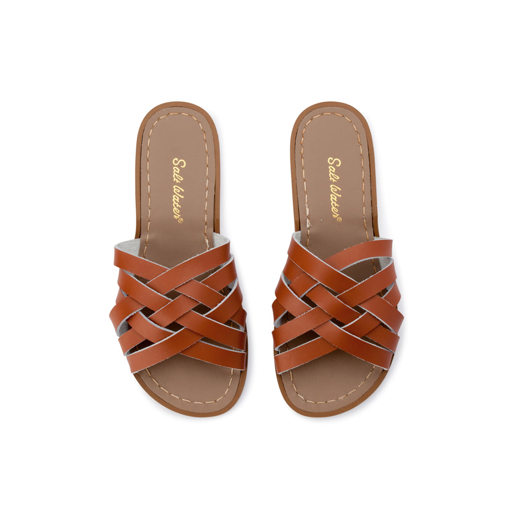 Saltwater Sandals Retro Slide - Tan
