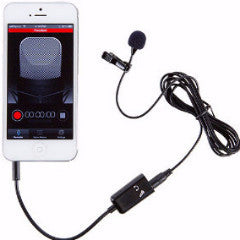 Aspen Mics Stereo Lavaliere Microphone Kit for iPhone, iPad, Ipod Touch & Android Devices (HQ-SPK)