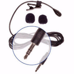 Aspen Mics Stereo Lavalier Microphone (HQ-S)